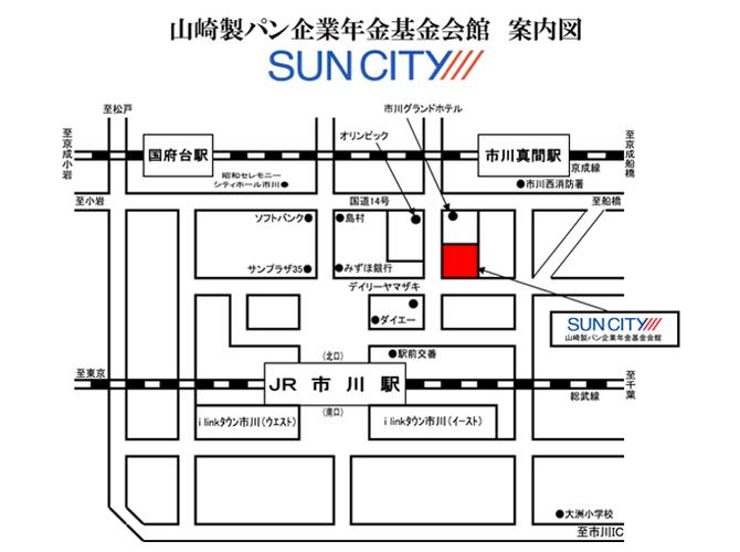 駅からのアクセスマップ
